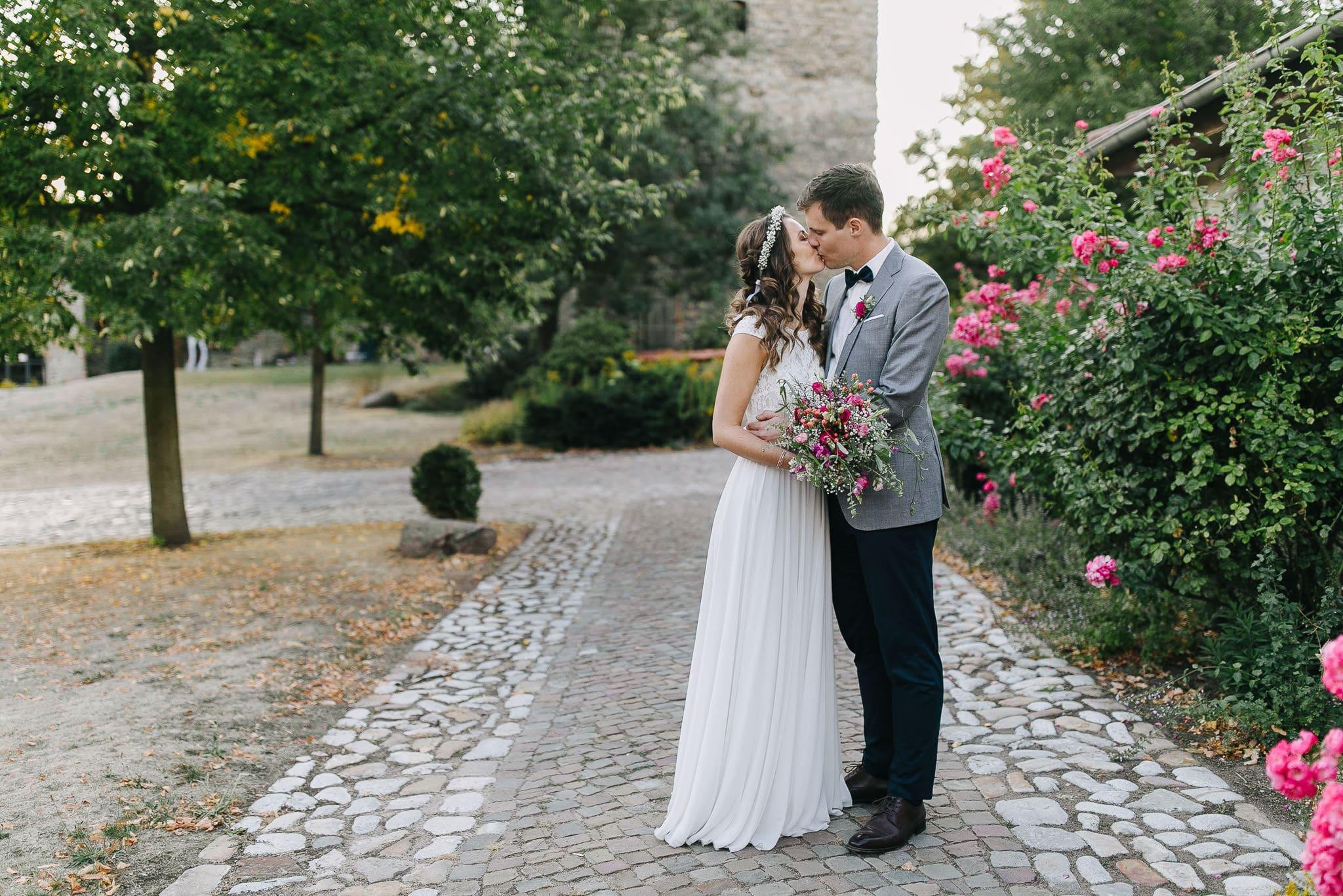 Hochzeit auf Burg Wanzleben